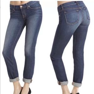 J Brand Caleb Slim Slouchy Boyfriend Jeans 27 X 32